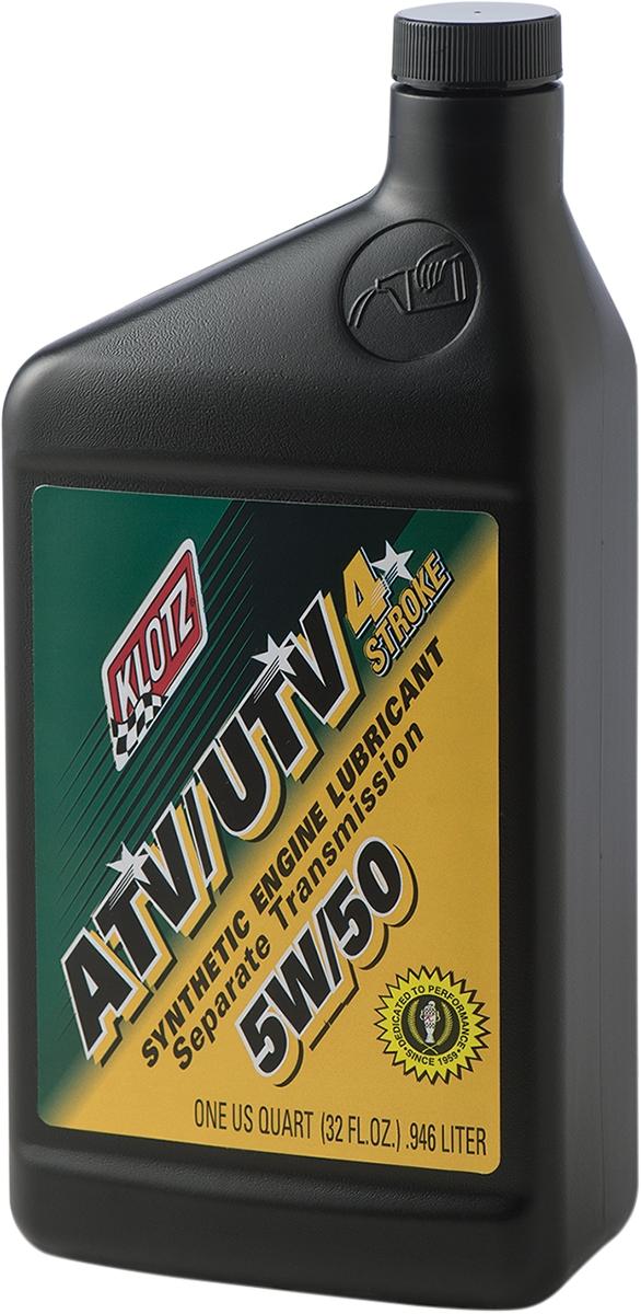 Klotz Oil ATV/UTV Synthetic 4T Engine Lubricant
