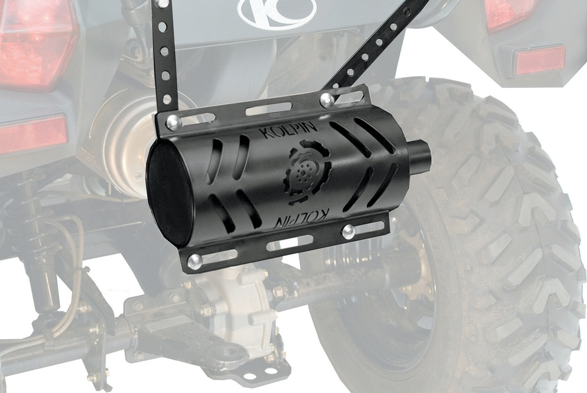 Kolpin Stealth Exhaust System 2.0 with Heat Shield