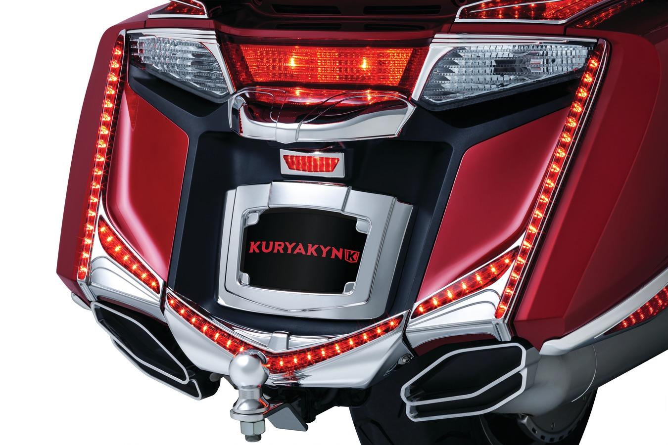 Honda goldwing kuryakyn led vertical rear runbrake light strips does not apply aloadofball Image collections