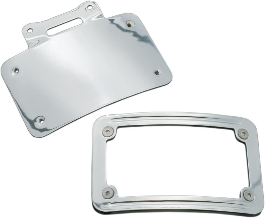 Kuryakyn Metric License Plate Frame