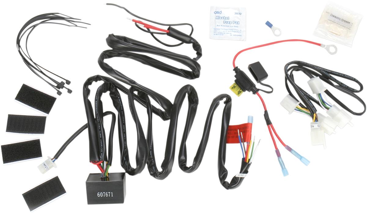 Transport wire harness wiring diagram schemes