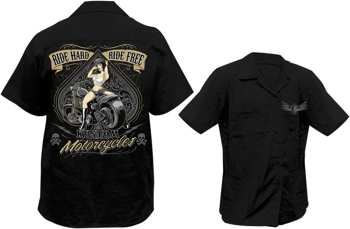 Lethal Threat Ride Hard Ride Free Shop Shirt