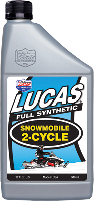 Lucas Synthetic 2-Cycle Snowmobile Oil