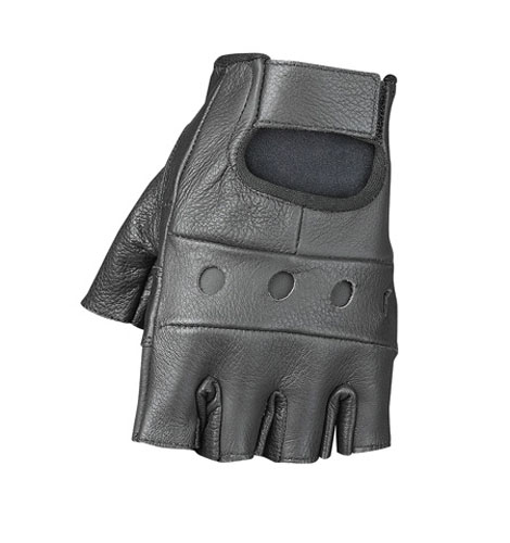 Mossi Leather Fingerless Gloves