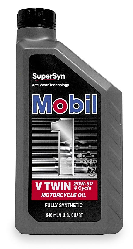 Mobil1 with Supersyn V-Twin