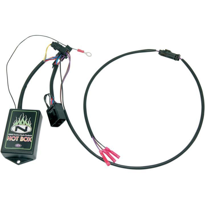 namz tour pak quick disconnect wiring harness ntp h03 tour pak quick disconnect wiring harness add power to your tour pak quickdisconnect convenience plugs into rear fender harness and connects into your