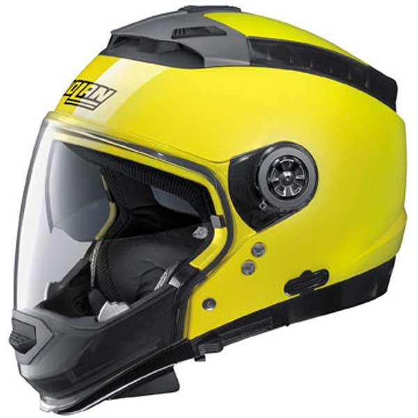 Nolan N44 Trilogy Hi-Vis Helmet