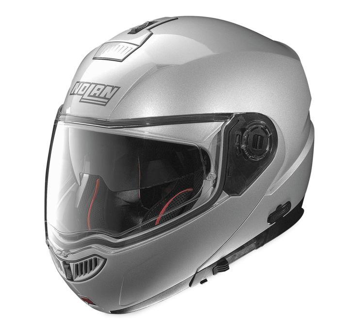 nolan n104 absolute solid colors modular powersports motorcycle helmet ebay. Black Bedroom Furniture Sets. Home Design Ideas
