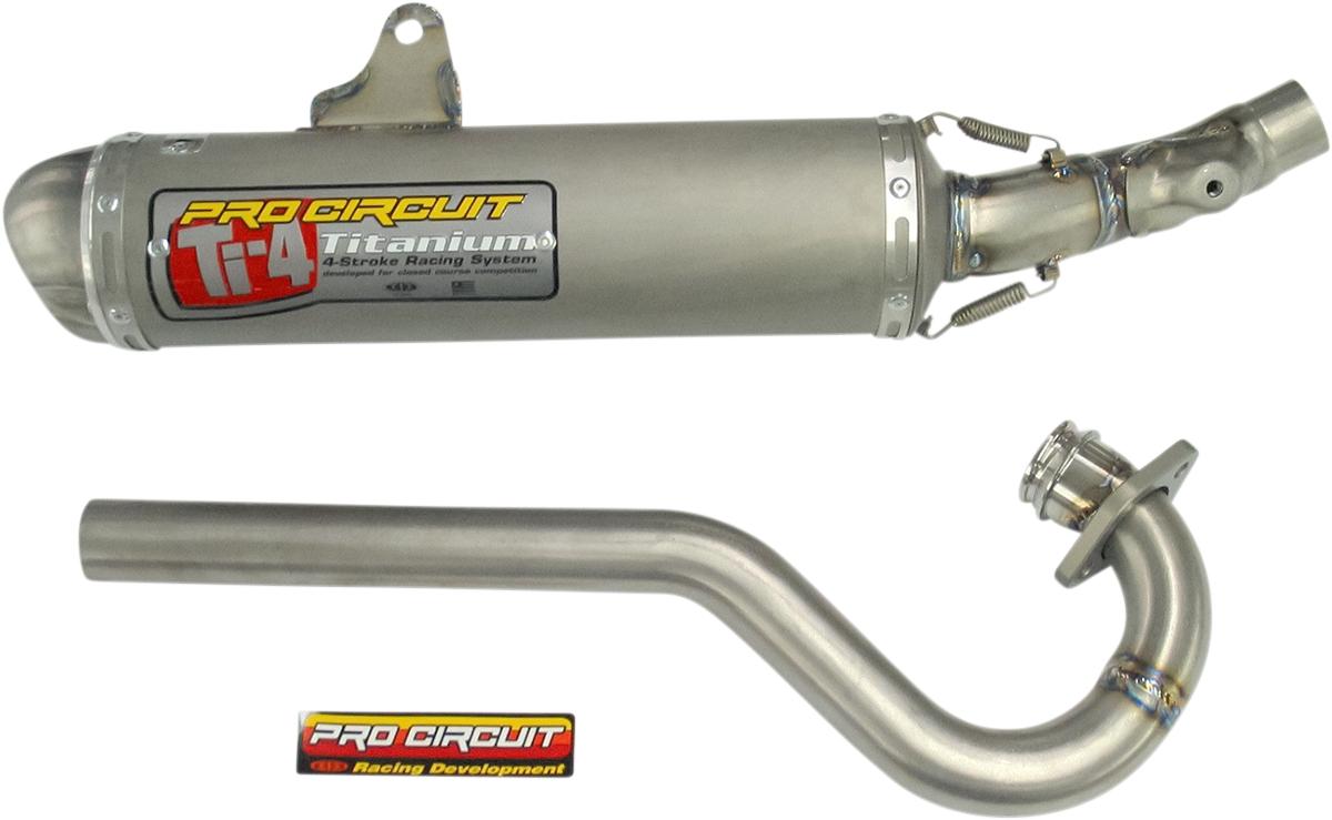Pro Circuit Ti-4 GP Low Boy Full System
