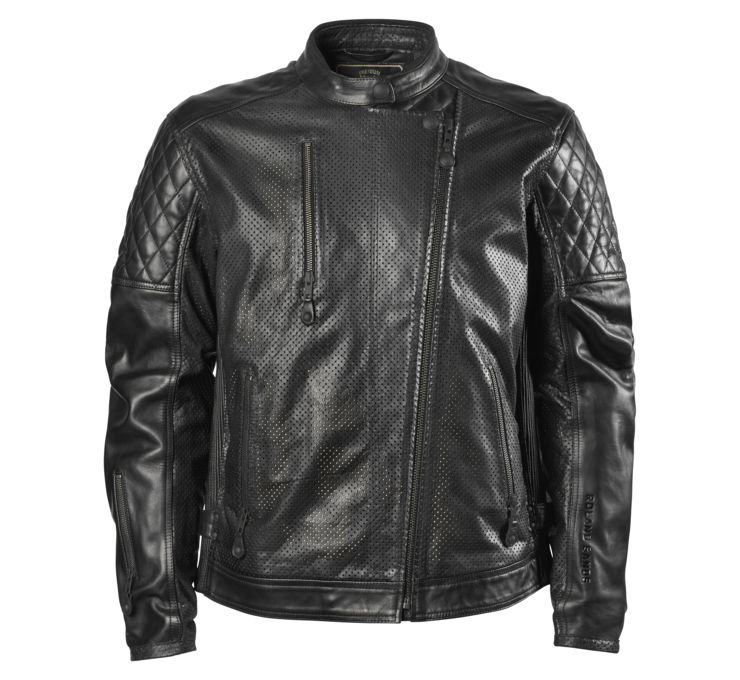 Roland Sands Design Clash Perforated Leather Jacket
