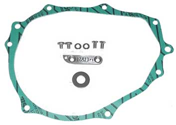 R & D Racing Products Timing Advance Plate with Gasket