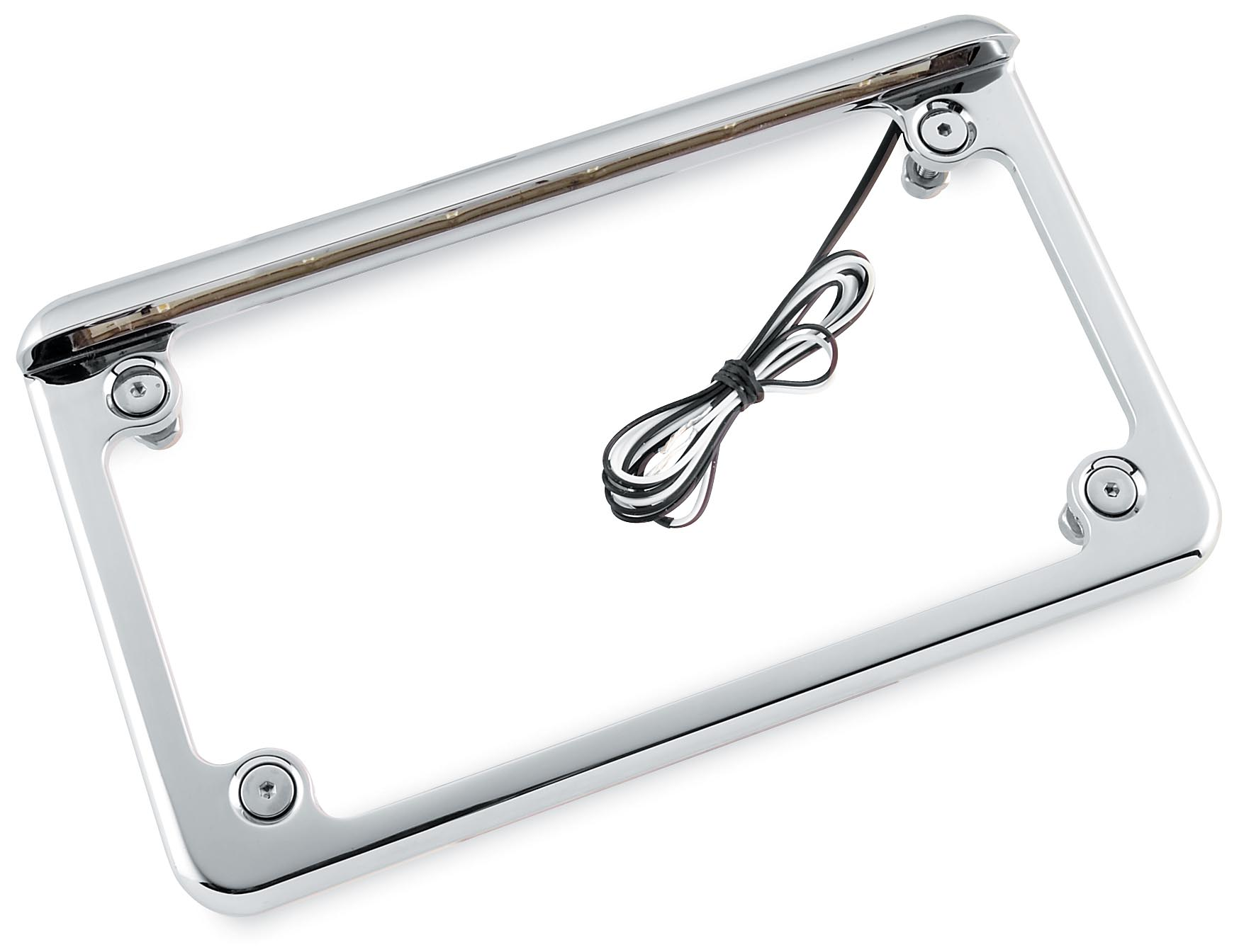 Radiantz Led Motorcycle Horizontal License Plate Frame
