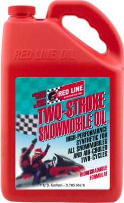 Red Line 2-Stroke Snowmobile Oil