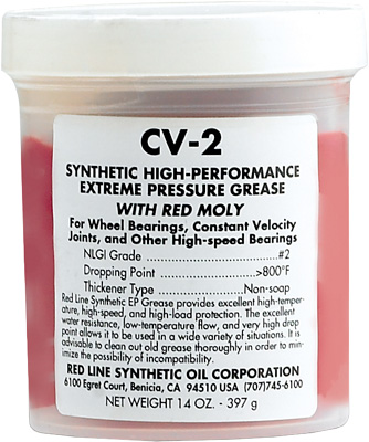 Red Line CV-2 Grease Tub
