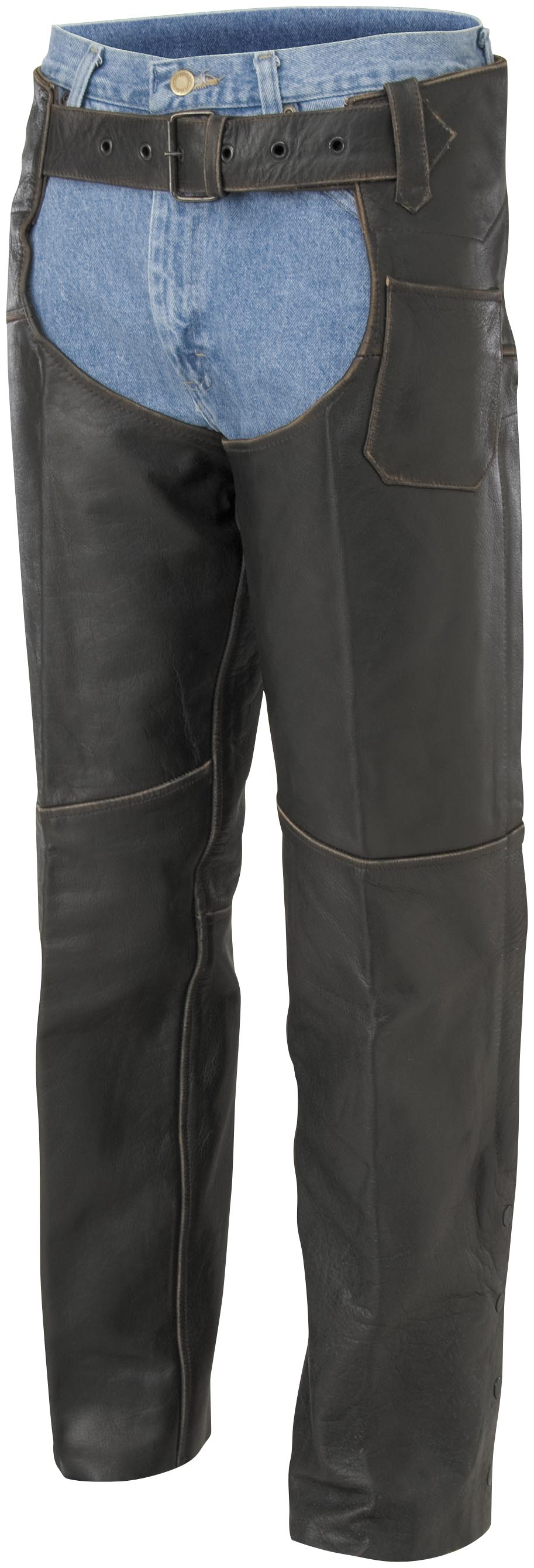 River Road Vintage Leather Chaps