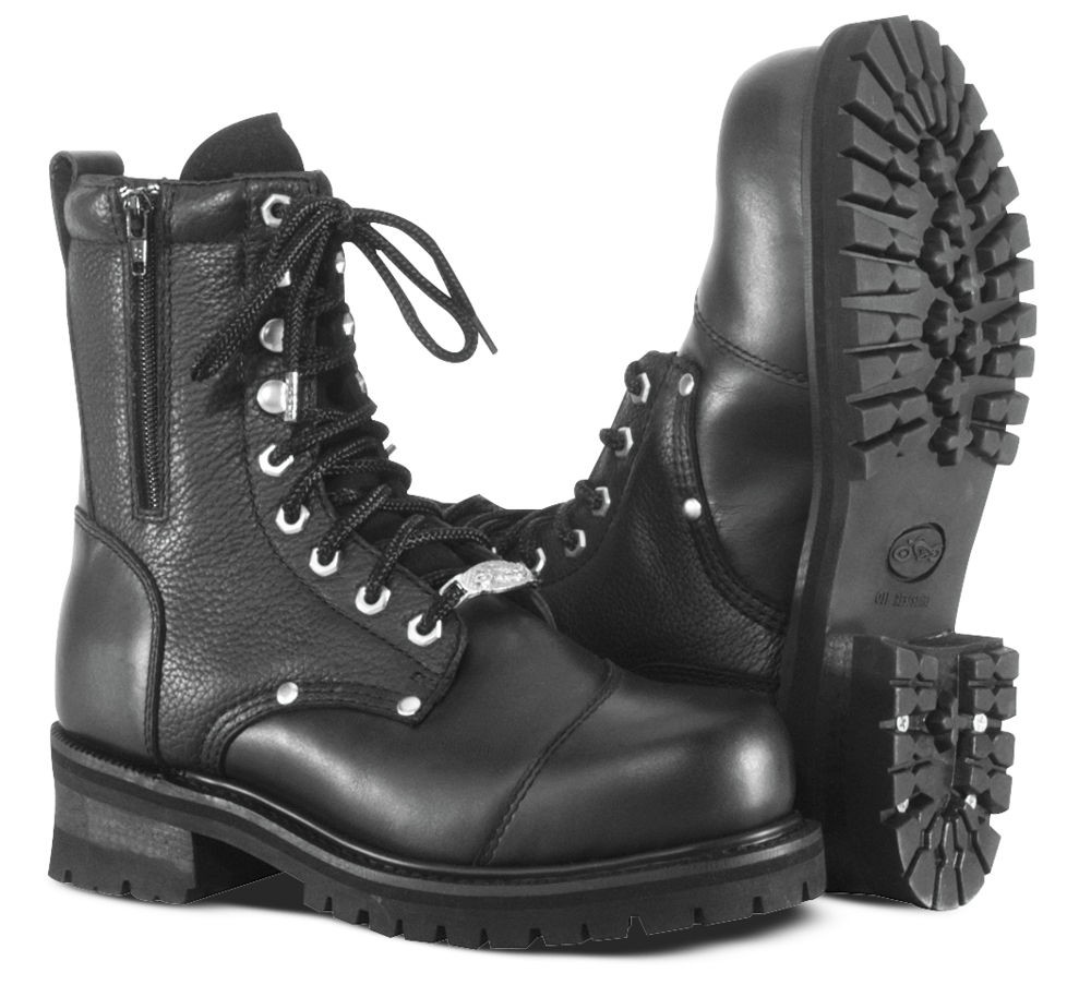 River Road Double Zipper Field Boot