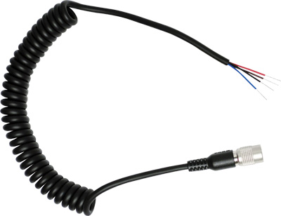 Two-Way Radio Cable with Open End for SR-10 Two-Way Radio Adapter