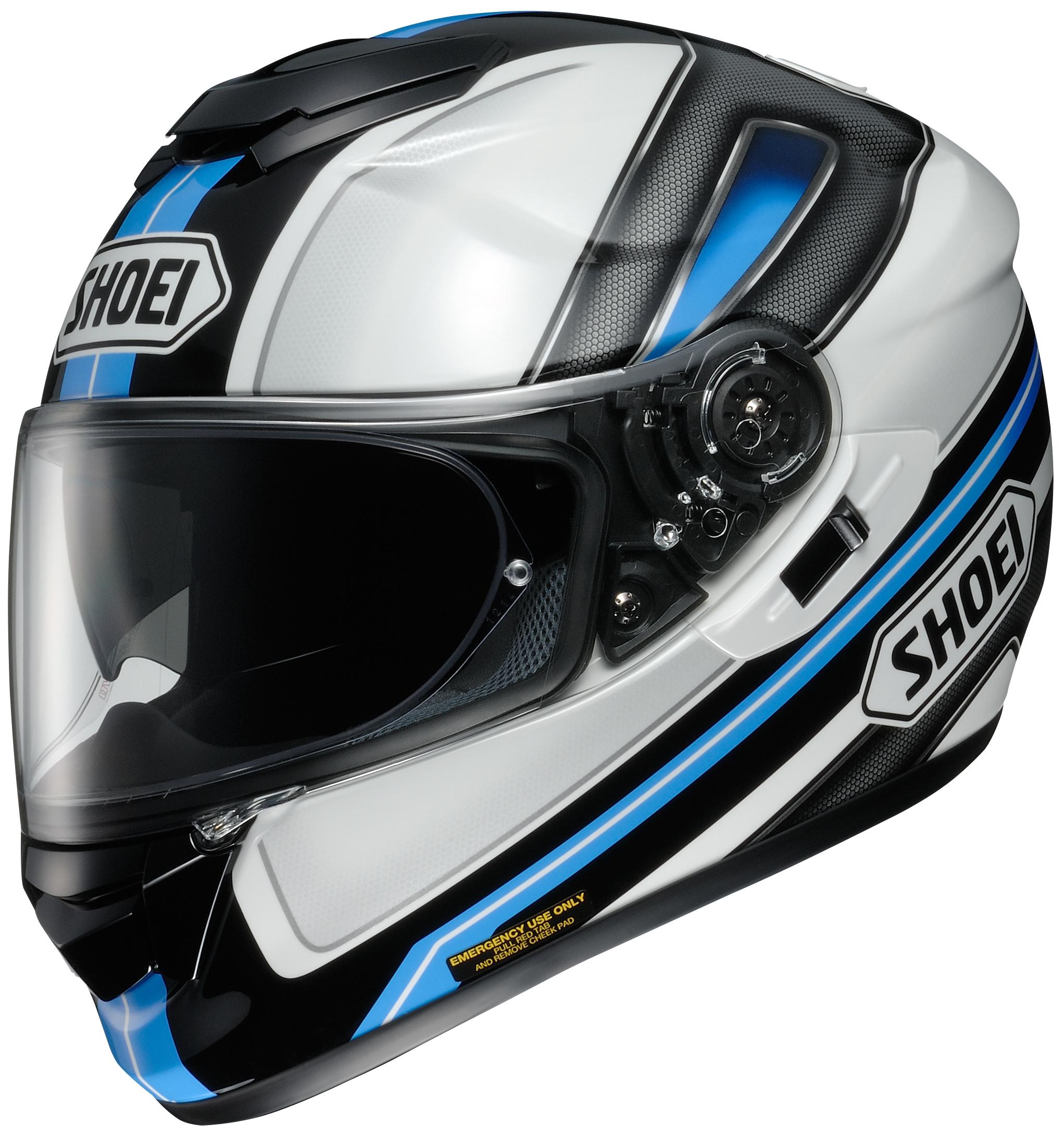shoei gt air dauntless motorcycle street helmet red blue or gray. Black Bedroom Furniture Sets. Home Design Ideas