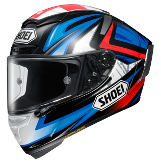 Shoei X-14 Bradley Helmet