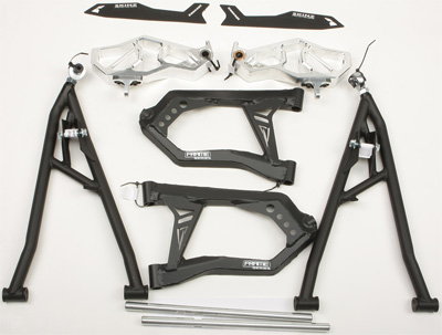 Skinz Concept Chromolly Performance A-Arm Kit without Shocks