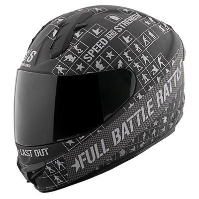 SS1400 Full Battle Rattle Full Face Helmet