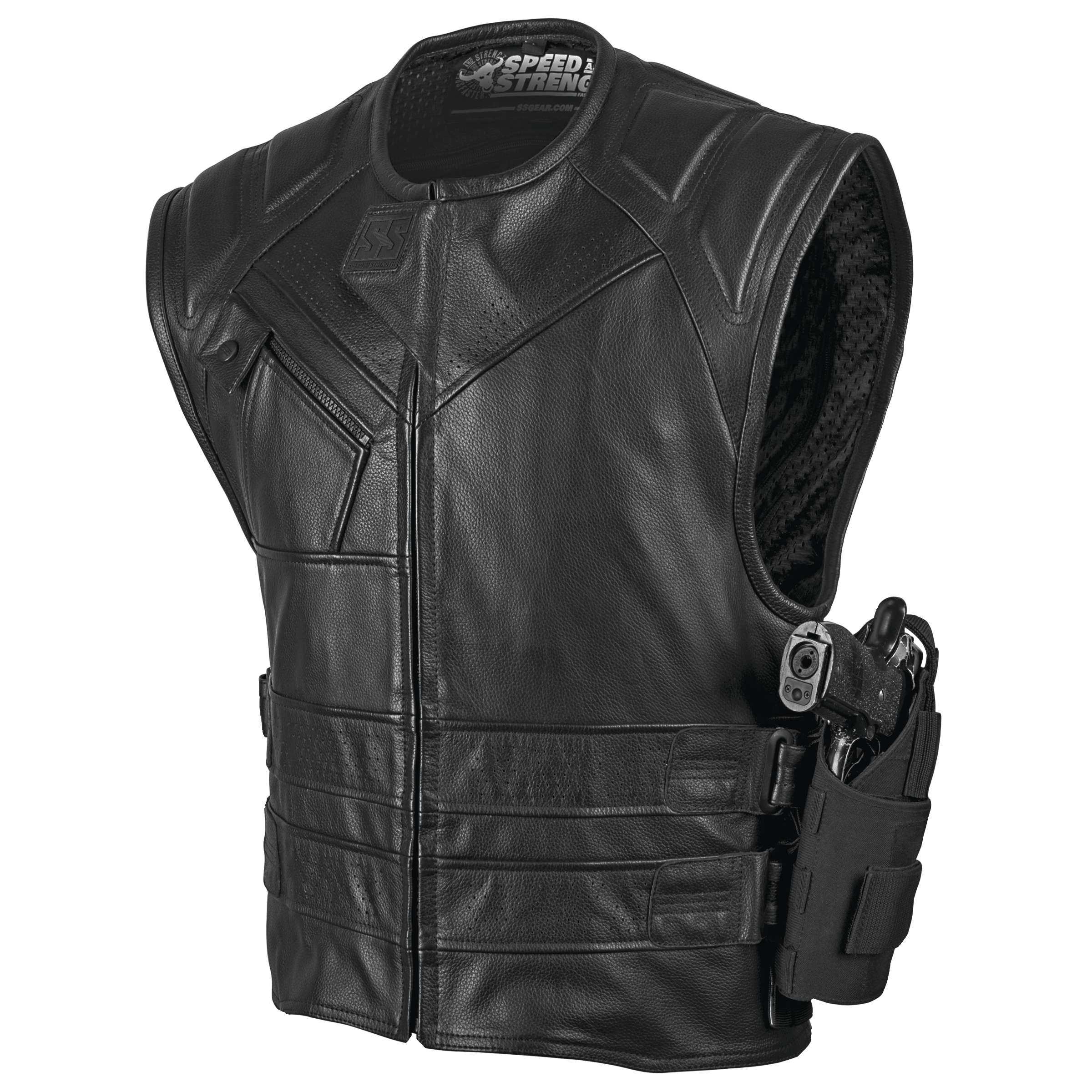 Speed & Strength Quick and the Dead Leather Vest