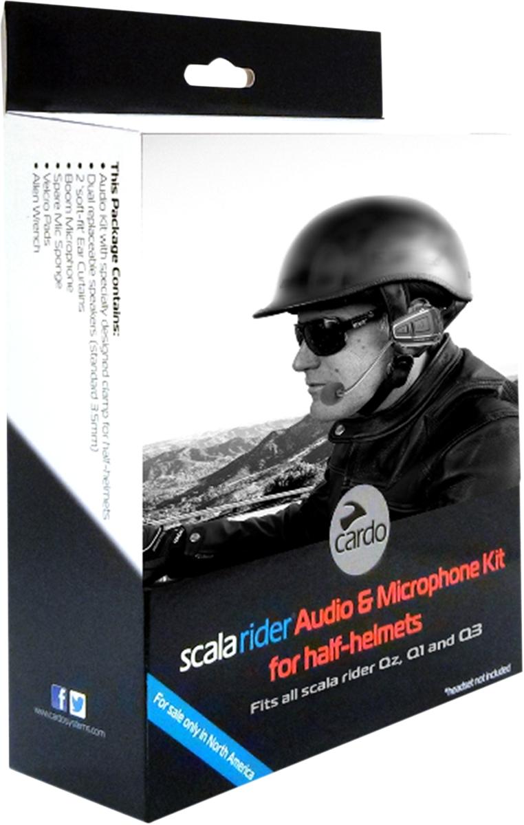 Scala Rider Q1/Q3/Qz Half Helmet Audio Kit
