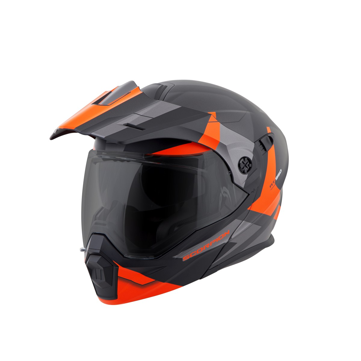 Ktm Orange Helmet