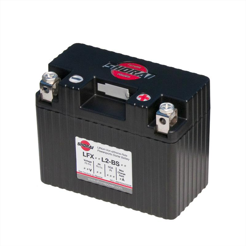 Shorai Lithium Iron Extreme-Rate Battery