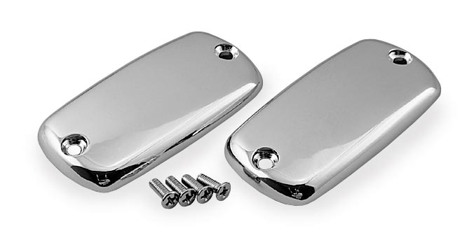 Show Chrome Master Cylinder Top Covers