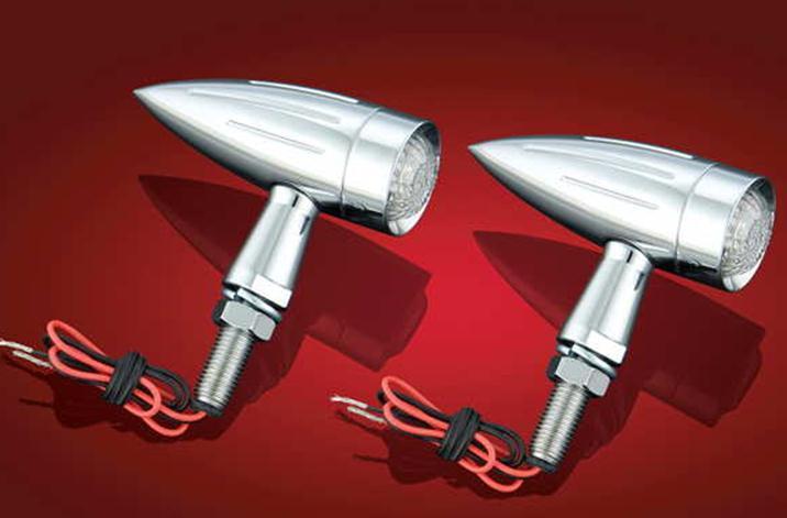 Show Chrome Torpedo LED Turn Signals