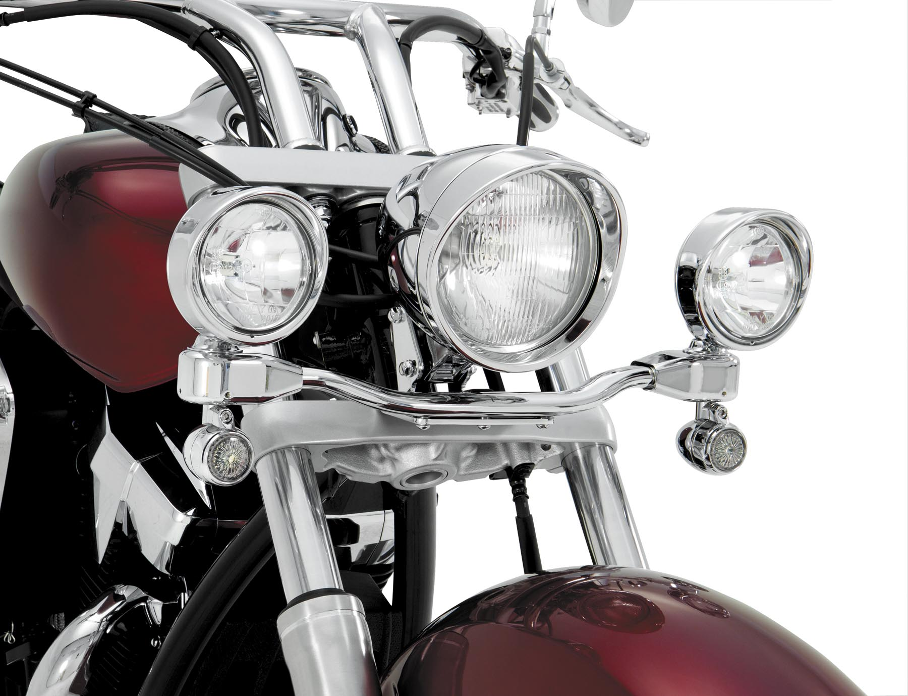Show Chrome 3 1/2in. Elliptical Driving Light Kit