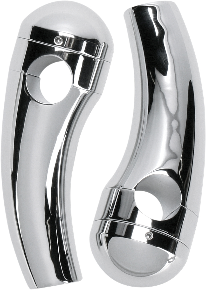 Show Chrome 4in. Tall Round Riser