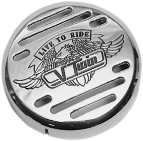 Show Chrome V-Twin Horn Cover