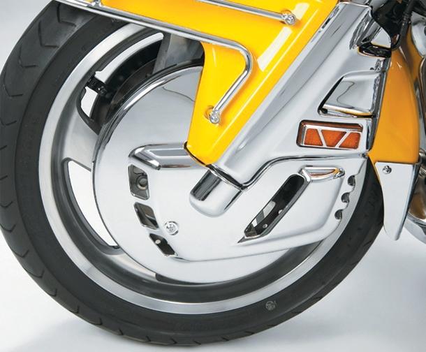 Show Chrome Chrome Rotor Cover