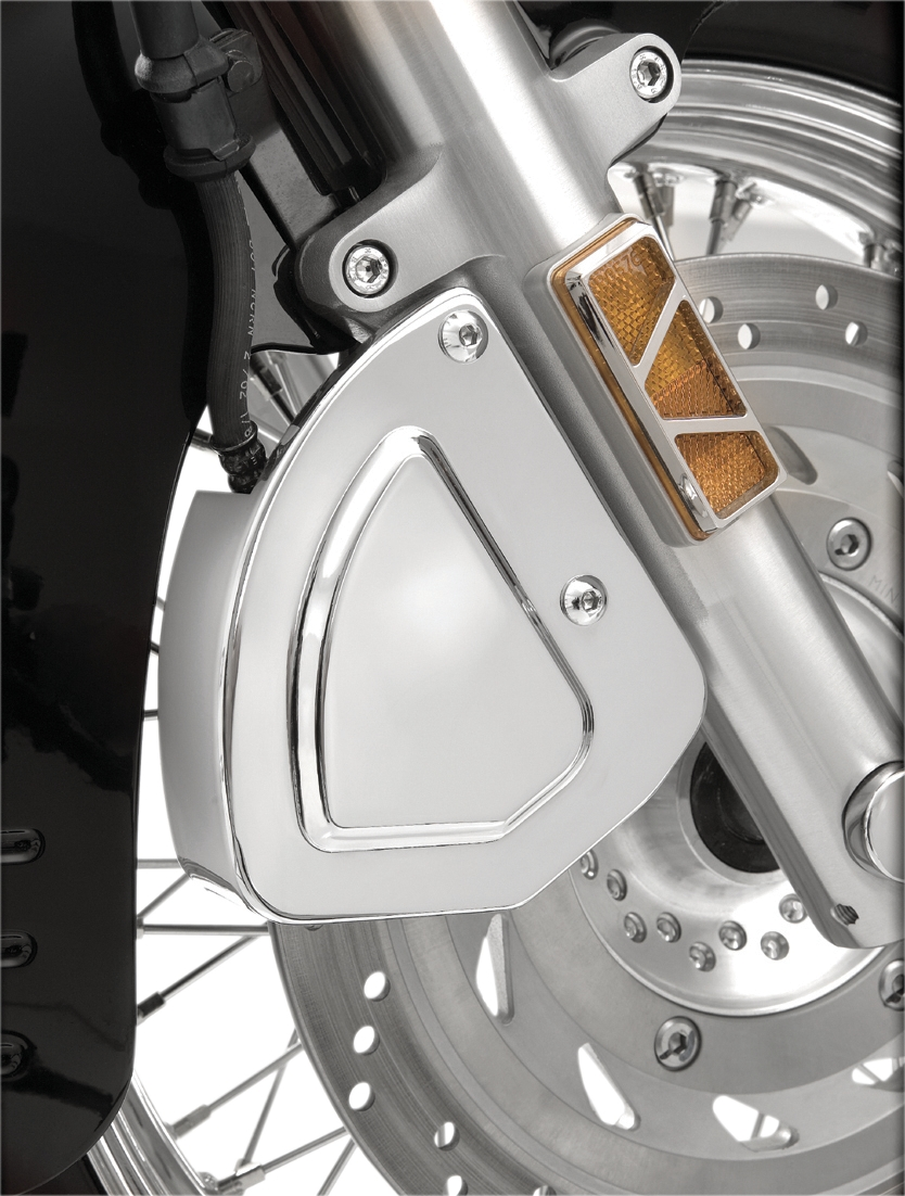 Show Chrome Front Brake Caliper Cover