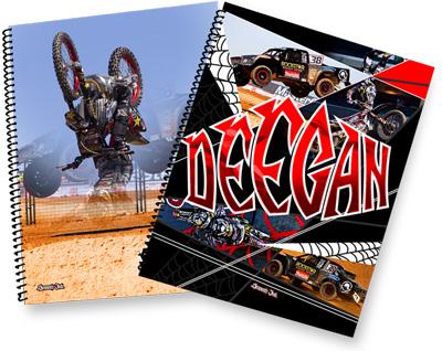 Smooth Industries Brian Deegan 5X7 Spiral Notebooks