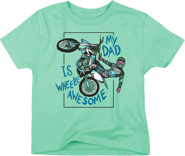Smooth Industries Dad's Wheelie Awesome Tee