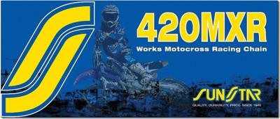 Sunstar 420MXR Works Motocross/Offroad Racing Chain