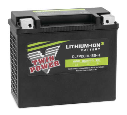 Twin Power Lithium-Ion Batteries