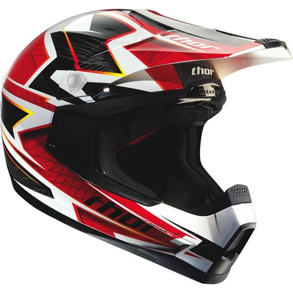 Thor MX Helmet Visor Kit for Quadrant 12 Youth ...