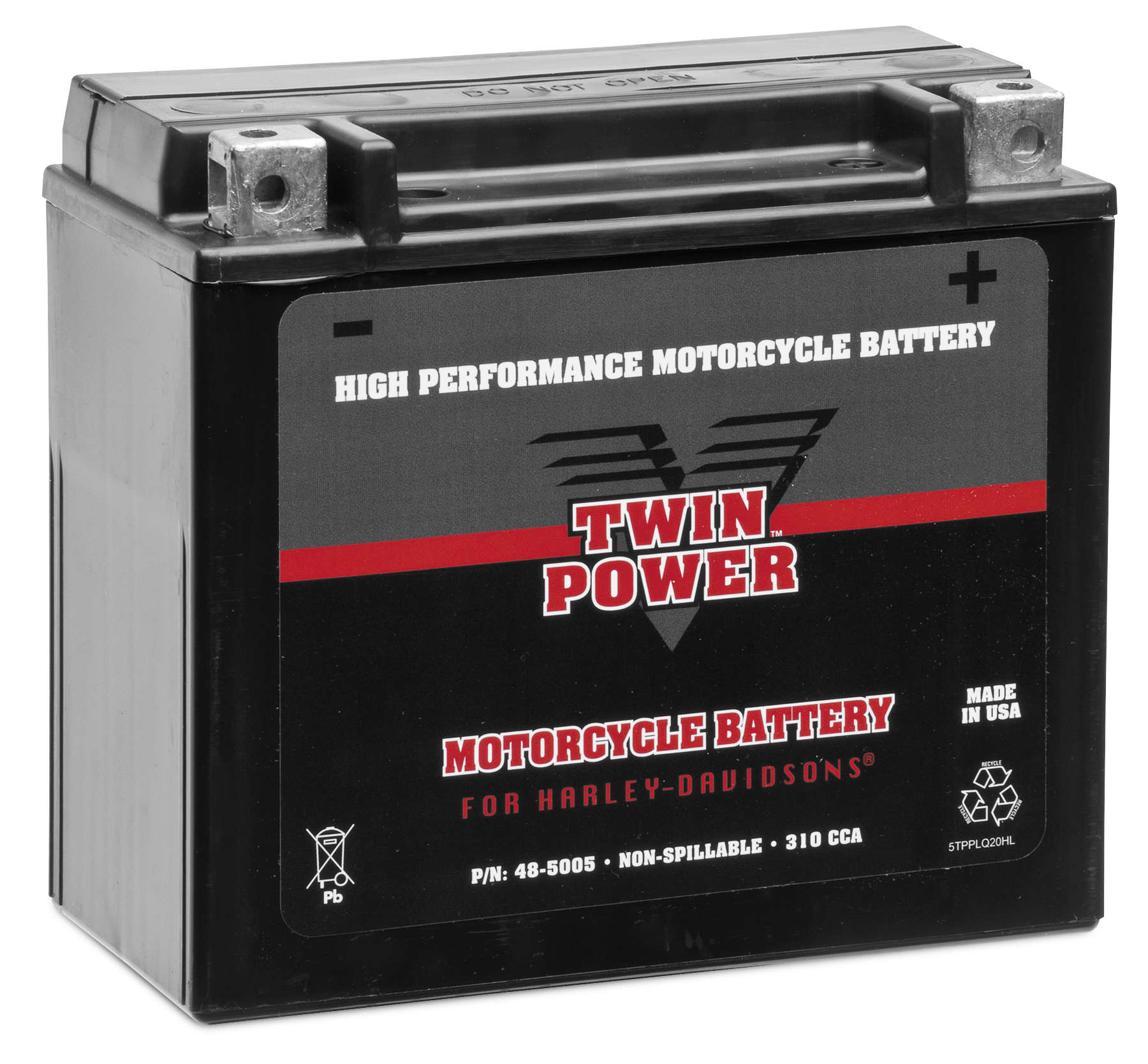 Twin Power High Performance Factory Activated AGM Battery
