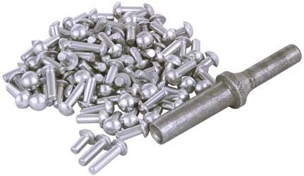Van Amburg Solid Aluminum 3/16in. Drive Rivet Kit
