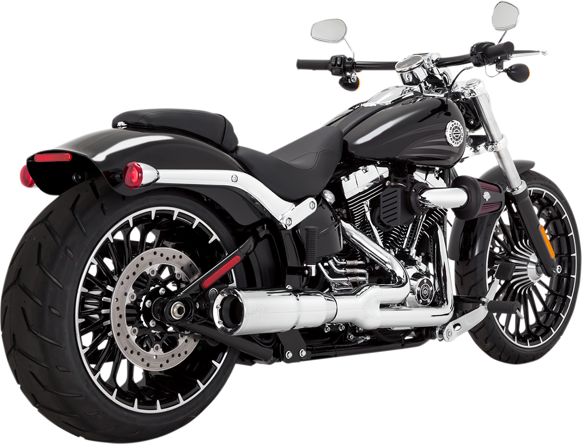 Vance & Hines Hi-Output 2-Into-1 Short Exhaust System