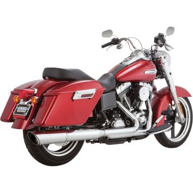 Vance & Hines Twin Slash 2-Into-1 Slip-On