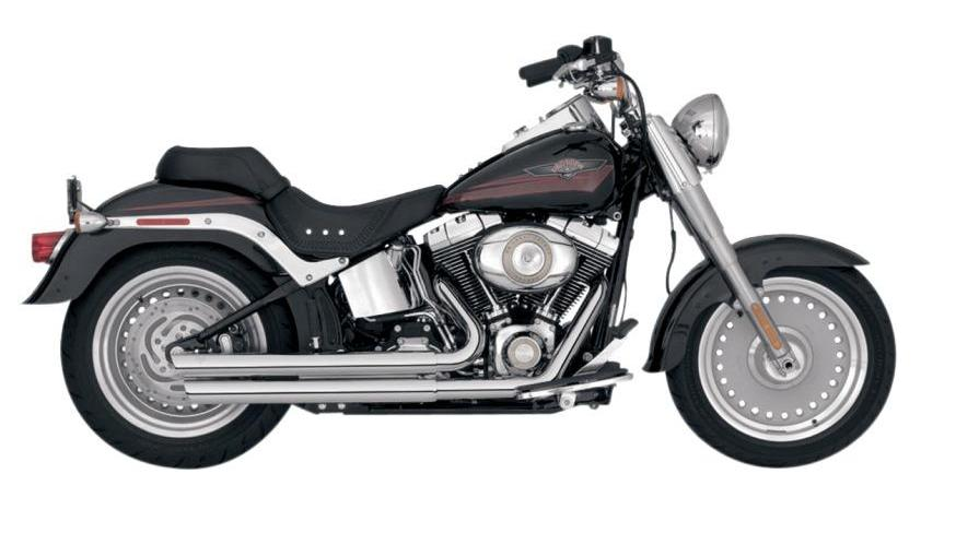 Vance & Hines Q-Series Double Barrel Staggered Exhaust System