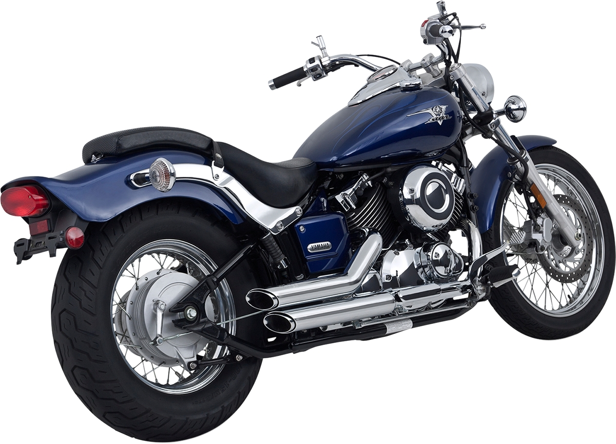 Vance & Hines Shortshots Staggered Exhaust System -Except CA models