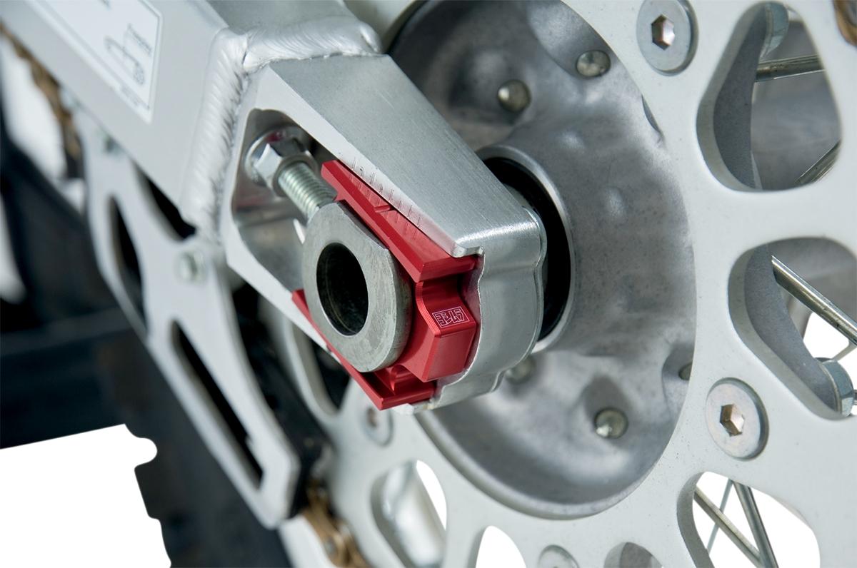 Yoshimura Rear Axle Adjuster Blocks