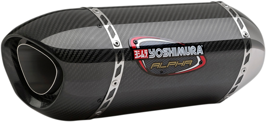 Yoshimura Alpha Signature Series Slip-On Mufflers