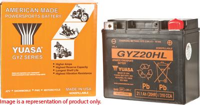 Yuasa GYZ High Performance Maintenance Free Battery
